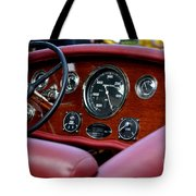 Classic Race Boat Dash Tote Bag