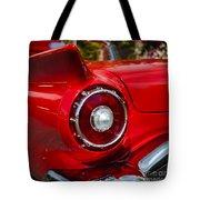 1957 Ford Thunderbird Classic Car  Tote Bag
