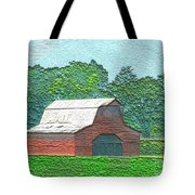 Classic Red Barn Tote Bag