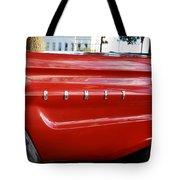 Classic Red Comet Tote Bag