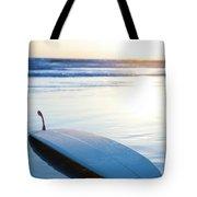 Classic Single-fin Long Board Surfboard Tote Bag