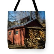 Classic Vermont Maple Sugar Shack Tote Bag