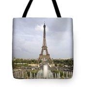 Classic View Of Paris Tote Bag