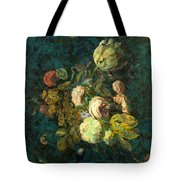 Classical Bouquet - S04bt01 Tote Bag by Variance Collections