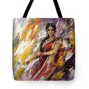 Classical Dance Art 14 Tote Bag
