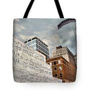 Classical Graffiti Tote Bag by Kristin Elmquist
