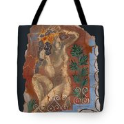 Classical Wall Fragment Tote Bag