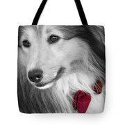 Classy Red Tote Bag
