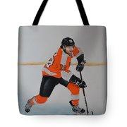 Claude Giroux Philadelphia Flyer Tote Bag