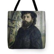 Claude Monet Self-portrait Tote Bag