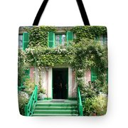 Claude Monets Home Tote Bag