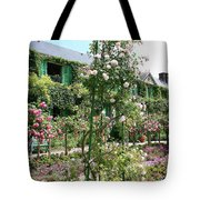 Claude Monets House - Giverney Tote Bag
