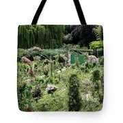 Claude Mounets Green Garden Gate Tote Bag