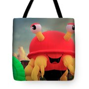 Claw D The Crazy Crab  Tote Bag