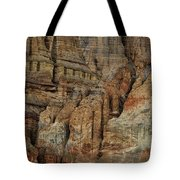 Clay Mountain Formations In Front Tote Bag