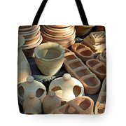 Clay Pots And Other Containers Tote Bag