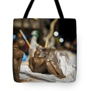 Clay Sculptured Model  Tote Bag