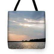 Clayton Lake Sunset Tote Bag