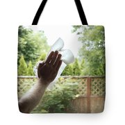 Cleaning A Window Tote Bag