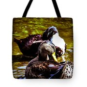 Cleaning Time Tote Bag