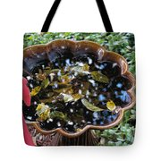 Cleanup In The Garden Tote Bag
