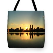 Clear And Smooth Tote Bag