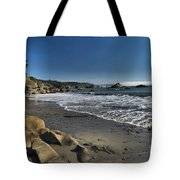 Clear At Trinidad Tote Bag by Adam Jewell