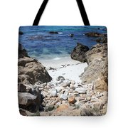 Clear California Cove Tote Bag