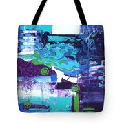 Clear Cool Water Tote Bag