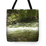 Clear Creek In Colorado Tote Bag