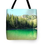 Clear Green Water Tote Bag