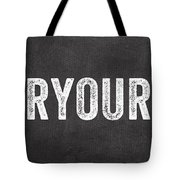 Clear Your Plate Tote Bag