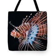 Clearfin Lionfish Tote Bag
