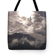 Clearing Clark's Fork Storm Tote Bag