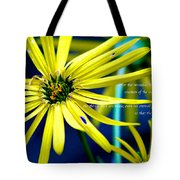 Clearly Seen Tote Bag