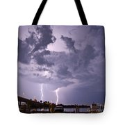Clearwater Harbor Tote Bag