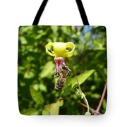 Clematis Bee-auty Tote Bag