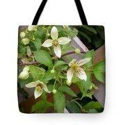 Clematis Grace Tote Bag