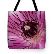 Clematis Up Close Tote Bag