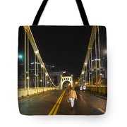Clemente Bridge Stragglers Tote Bag