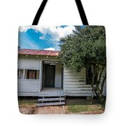 Clementine Hounter House Tote Bag