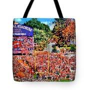Clemson Tigers Memorial Stadium II Tote Bag
