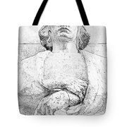 Clenched Hands Tote Bag