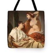 Cleopatra And Antony Tote Bag