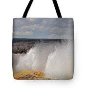 Clepsydra Geyser Tote Bag
