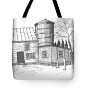 Clermont Barn 1 Tote Bag