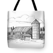 Clermont Barn 2 Tote Bag