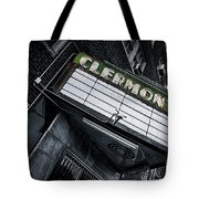 Clermont Hotel Tote Bag