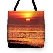 Clevedon Sunset Tote Bag