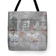 Cleveland Browns Legends Tote Bag